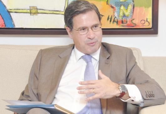 French Ambassador H.E. Frédéric Clavier