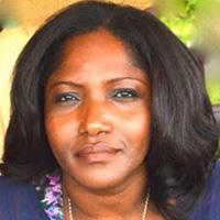 Ghanaian author, poet and playwright, Hajara Lydia (HL) Daniel